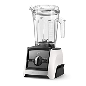 Vitamix A2300 Ascent Series Smart Blender, Professional-Grade, 64 oz. Low-Profile Container, White