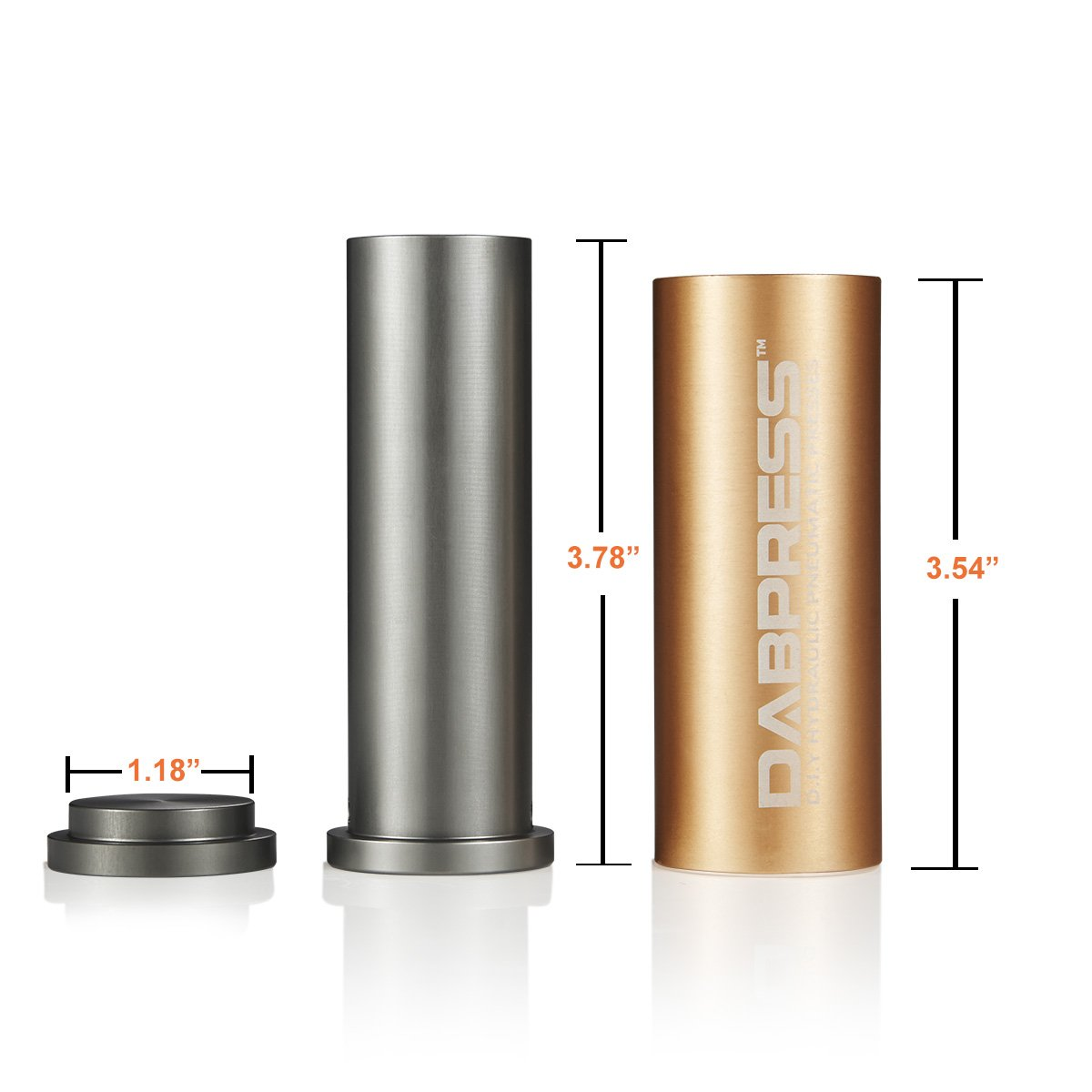 Pair It with 2x4 Inch Filter Bag Made of Anodized Aluminum iBudtek dp-pm3015r Cylinder Pre Press Mold
