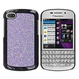 iKiki Tech / Estuche rígido - Purple Reflection Snow Winter - BlackBerry Q10