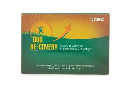 Duo Recovery (pack 10 sobres) -- RECUPERA LA ENERGÍA FÍSICA Y MENTAL Y