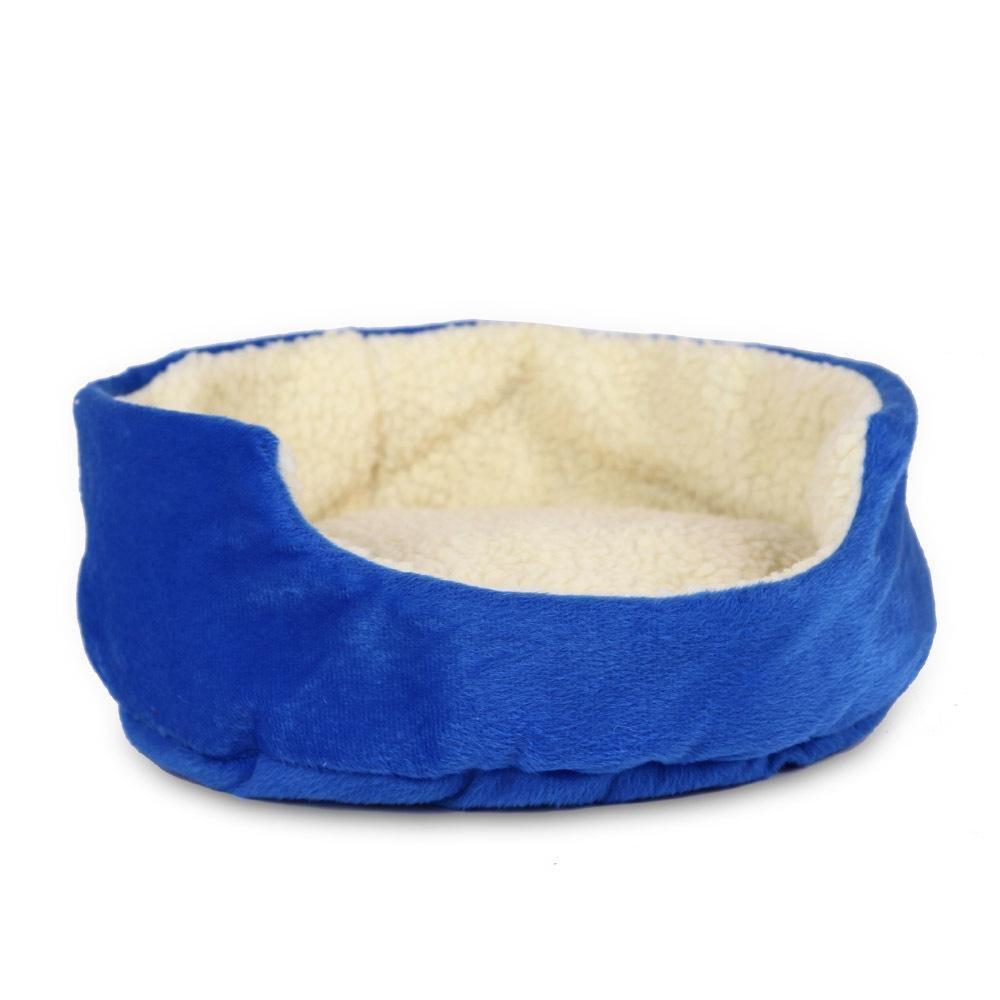A BiuTeFang Pet Bolster Dog Bed Comfort Cute round kennel cat Litter dog bed