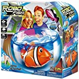 Robo Fish Play Set Fish Bowl with Random Fish Included - Water activated! As seen on TV