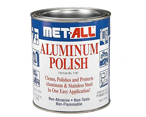 Met-All Industries Aluminum Polish, Met-All (32 Oz)