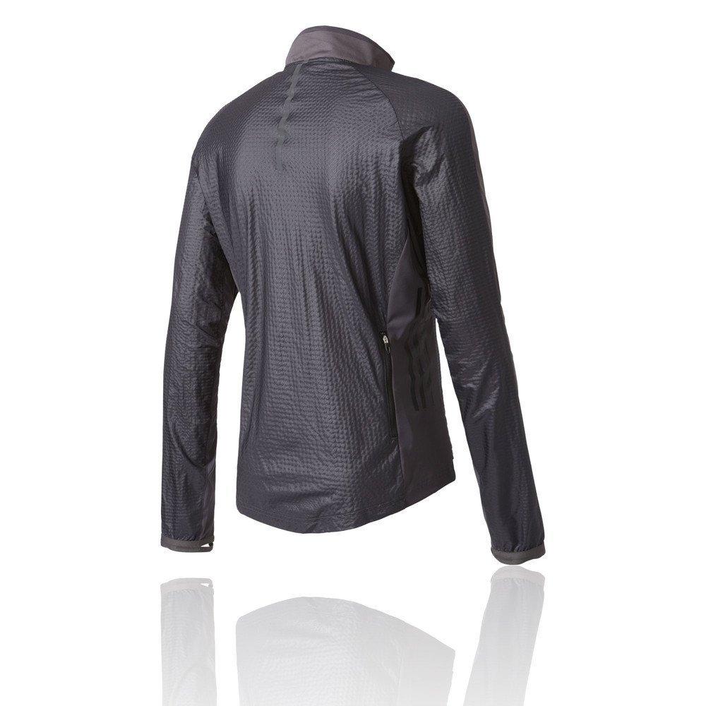 d528b4cbd9f8 adidas Men s Adizero Slim Fit Track Jacket. Utility Black Black ...