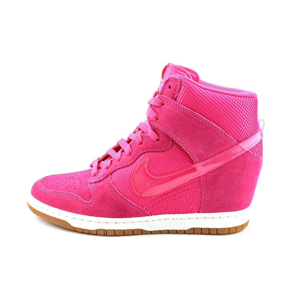best sneakers cb8d2 9692a Amazon.com   NIKE Dunk Sky HI Mesh Womens Basketball Shoes 579763-600 Pink  Force 10 M US   Road Running