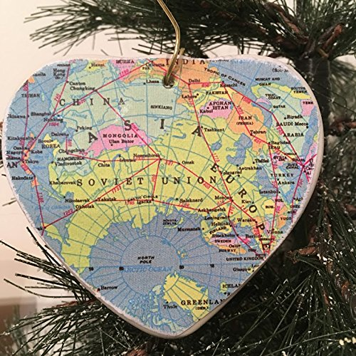 Christmas Heart Ornament (Christmas Ornaments Russia)