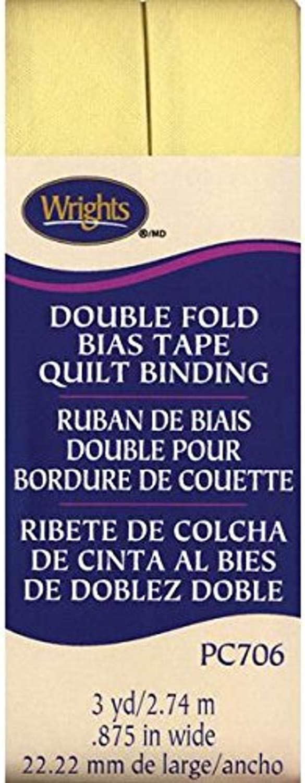Baby Maize Wrights Single Fold Bias Tape 1//2 by 4-Yard