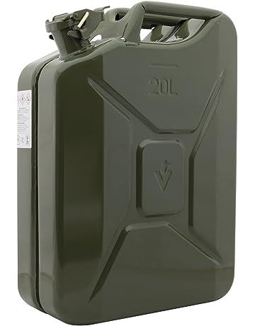 Indicador de nivel de combustible dönges bidón de chapa de acero, ejército modelo, Capacidad