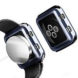 Apple Watch Chrome TPU Case W/Glass Screen