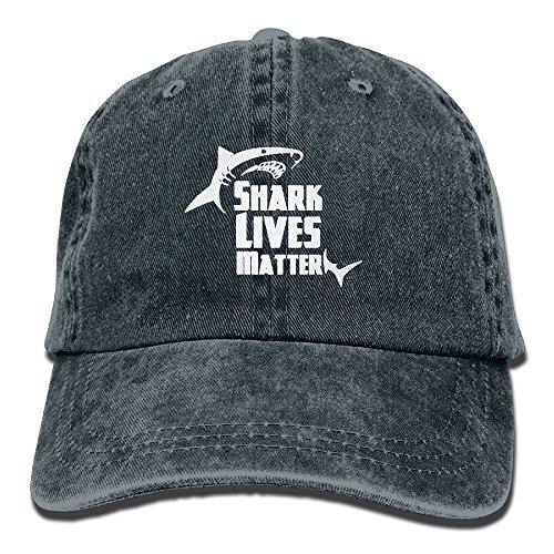 (No Lives Matter Shark Unisex Adult Adjustable Trucker Dad)