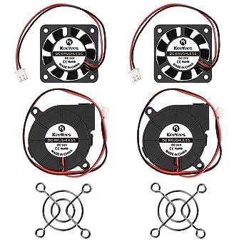 KeeYees Impresora 3D Ventilador de Enfriamiento DC 24V 50 mm x 50 ...