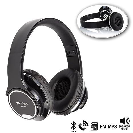 DAM. DMX068BLACK. Cascos Bluetooth con Modo Altavoz, con ...