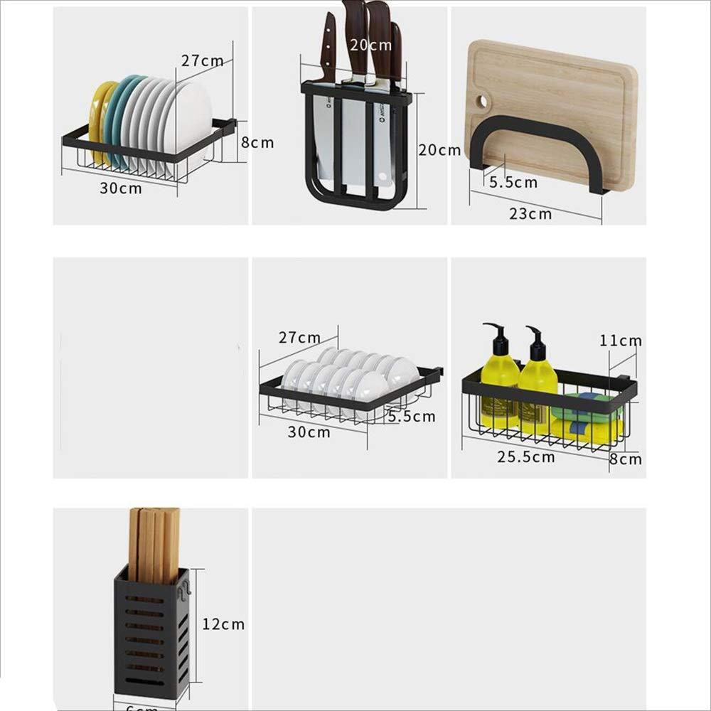 Amazon.com: HUO - Escurreplatos de acero inoxidable para ...