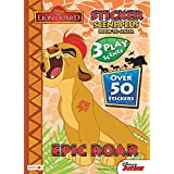 The Lion Guard Book to Color with 50 Stickers, 3 Sticker Scenes and 24ct Crayola Crayons