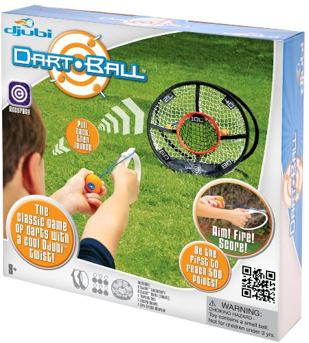 Djubi Dart Ball, Daytime Active Camp Games, Camp Games Kids And Adults Love