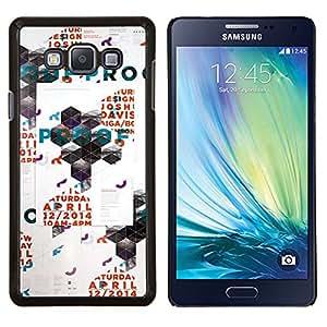 """Be-Star Único Patrón Plástico Duro Fundas Cover Cubre Hard Case Cover Para Samsung Galaxy A7 / SM-A700 ( Arte Polígono Poster Pared Rave Evento"""" )"""