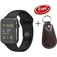 Xotak Smart Watch with Bluetooth Sim Card (4G Supported) Health and Fitness Tracker, Multi Language and More - Grey