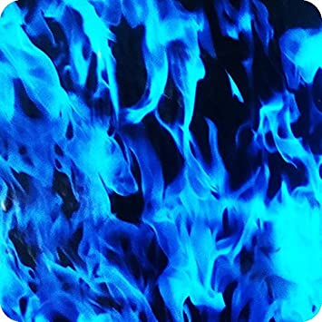 Cubicatura film pellicola hydrographic idrografia - Hydra water transfer printing - TESCHI FIAMME E DEMONI HLC-002 (2)