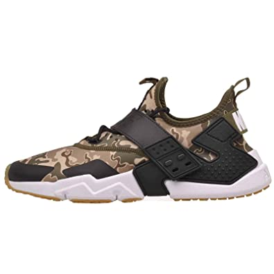 hot sale online 10c97 8c6f8 Nike Mens Air Huarache Drift Running Shoes (8.5, Olive Canvas Black-Canteen