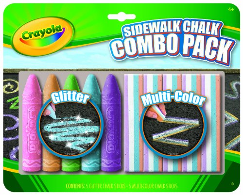 Chalk Walk - Crayola Special Effects Sidewalk Chalk