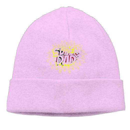 ARTOPB Fashion Funny 2019 Warm Winter Beanie Super Daddy Men Women Thick Knit Caps Classic Beanie Hats: Amazon.es: Deportes y aire libre