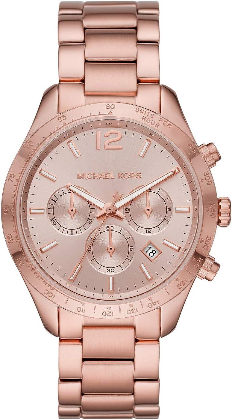 Michael Kors Layton - Reloj cronógrafo clásico para Mujer - MK6796