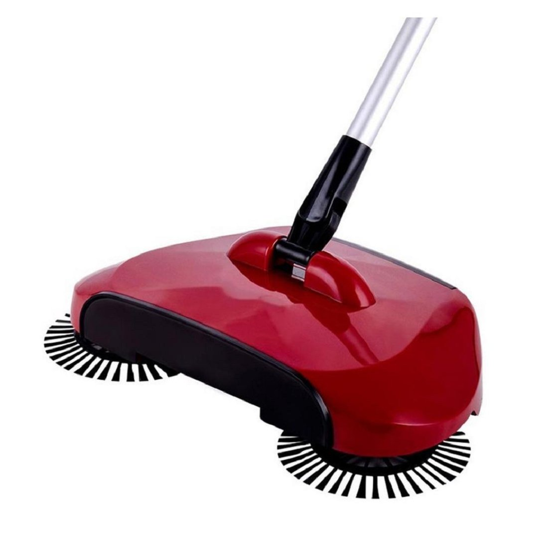 Sunfei New Arrival 360 Rotary Home Use Magic Manual Floor Dust Sweeper (Red)