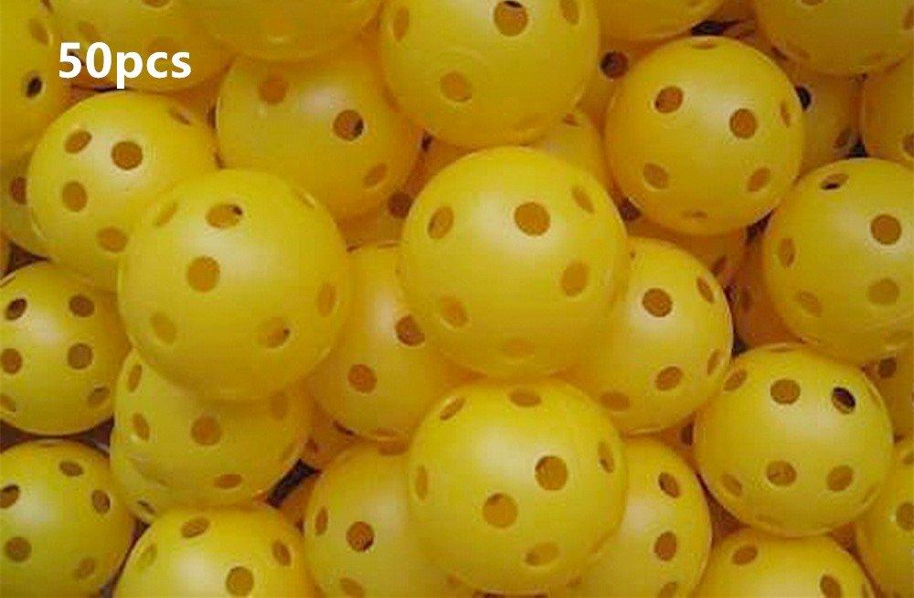 Air Flow Golf Yellow Balls A99 Golf 50pcs by A99 Golf (Image #1)
