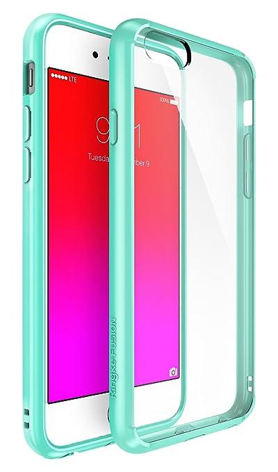 1099 opinioni per Ringke [Fusion]iPhone 6S/6 Case- Ringke FUSION Clear PC Back TPU Bumper [Crystal