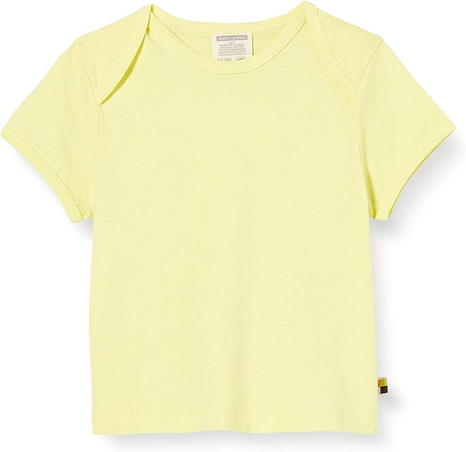 proud T-Shirt Single Jersey Organic Cotton Camiseta para Beb/és loud