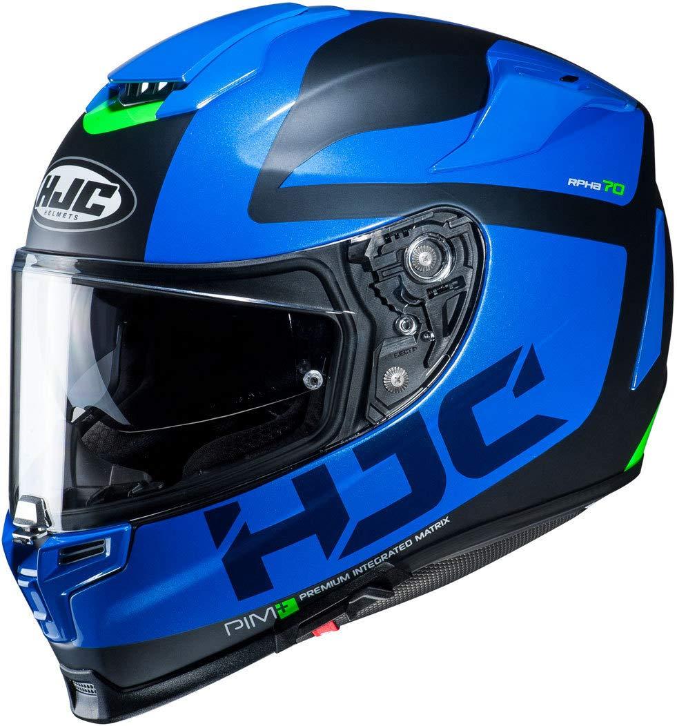 Schwarz//Weiss S Motorradhelm HJC RPHA 70 BALIUS NC5SF