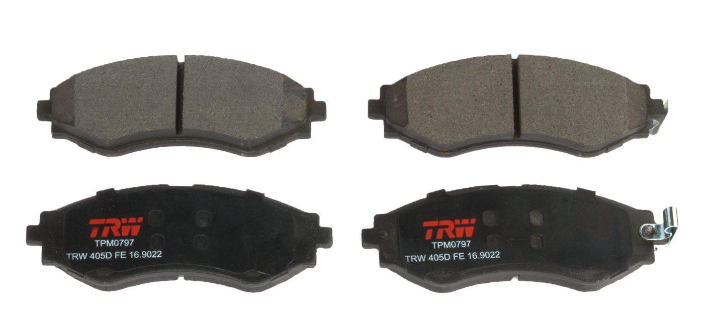 TRW TPM0797 Premium Front Disc Brake Pad Set