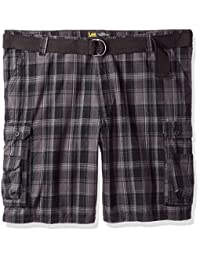 Lee mens big-tall Big and Tall Dungarees New Belted Wyoming Cargo Short