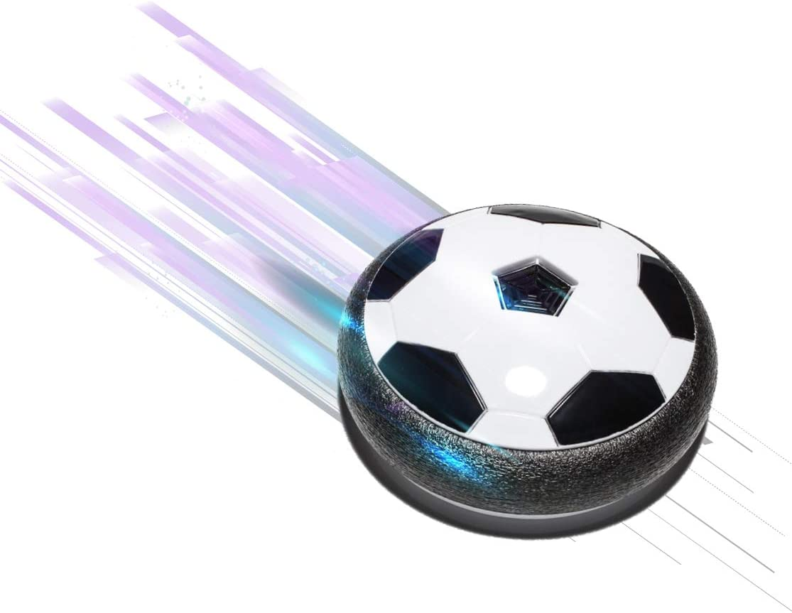 Direct TV Outlet Glyde Ball Visto en TV Balón de Fútbol Flotante con Luces LED Pelota de Espuma para Niños Jugar en Casa