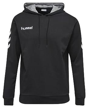 1f2a5f9cd1 Hummel Damen Core Cotton Hoodie Sweatshirt: Amazon.de: Sport & Freizeit