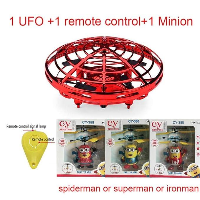 MezzenoAnticolisión Flying Helicopter Magic Hand UFO Ball Aircraft ...