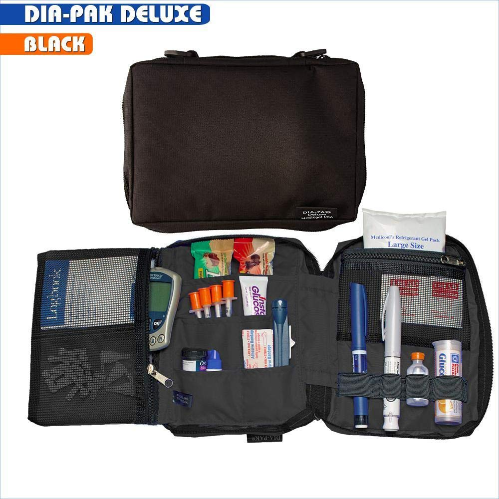 Medicool Dia-Pak Deluxe Organizer | DP DELX/BK by Medicool