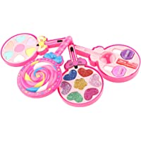 Blesiya Kids Cosmetic Toys Lollipop Beauty Set for Girls with Lipstick, Eye Shadow, Nail Polish etc.