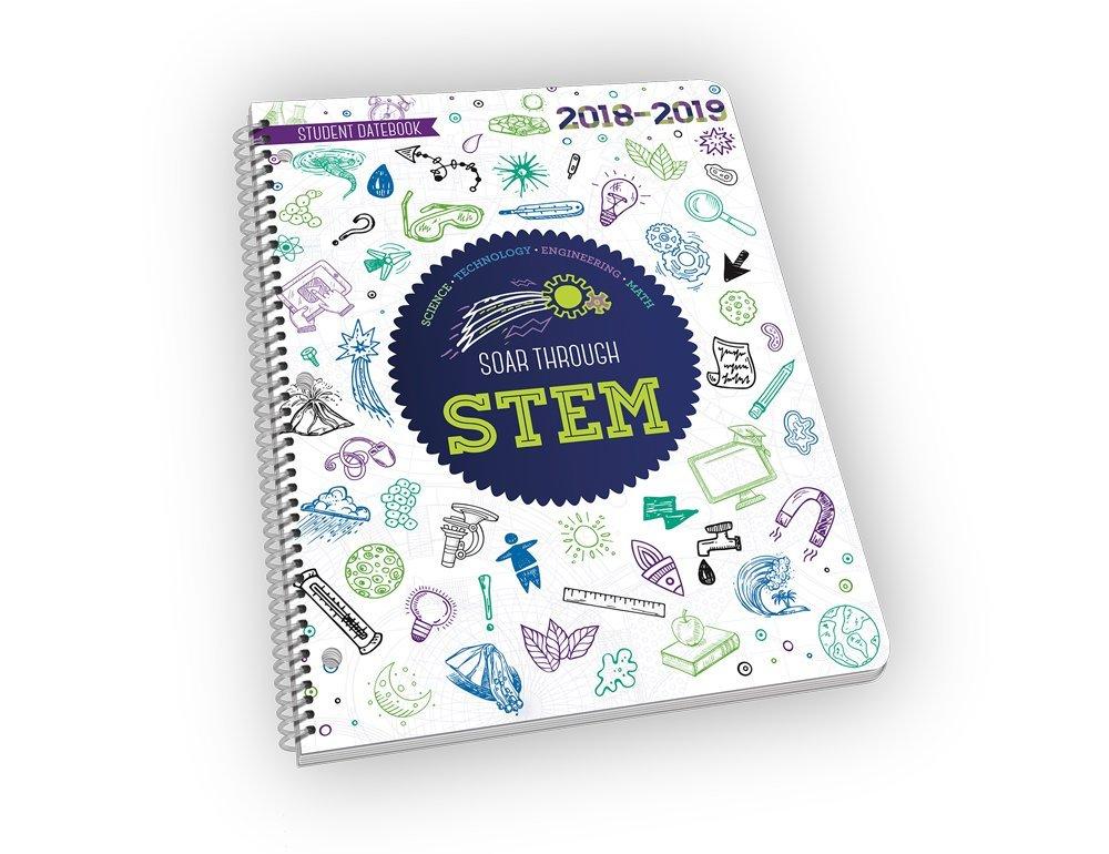 2018 - 2019 Soar Through STEM - Academic School Year STEM Educational Planner - 8.5'' x 11
