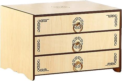 Escritorio de madera y cajón archivador armario de almacenamiento ...
