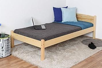 Individual/cama madera maciza de pino de madera 86, con ...