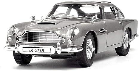 Kakadz Wei Kkd Scale Modellfahrzeuge 1 18 Aston Martin Db5 Statisches Automodell Collection Level Schmuck Dekoration Automodell Color Gray Amazon De Küche Haushalt