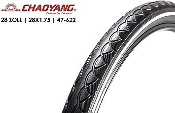 Chaoyang Tire 47-622 - Cubierta antipinchazos para Bicicleta (28 x ...