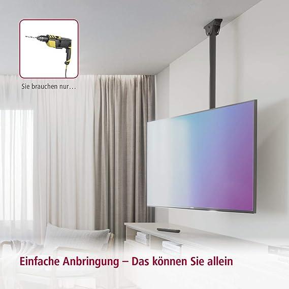 Hama TV-Techo 165 cm Negro: Amazon.es: Electrónica