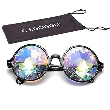 Amazon.com: OMG_Shop - Gafas de sol con caleidoscopio, talla ...