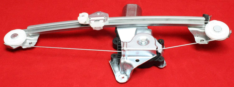 Power Window Regulator 97-03 For Chevy Malibu; 04-05 Classic Rear Right w//Motor