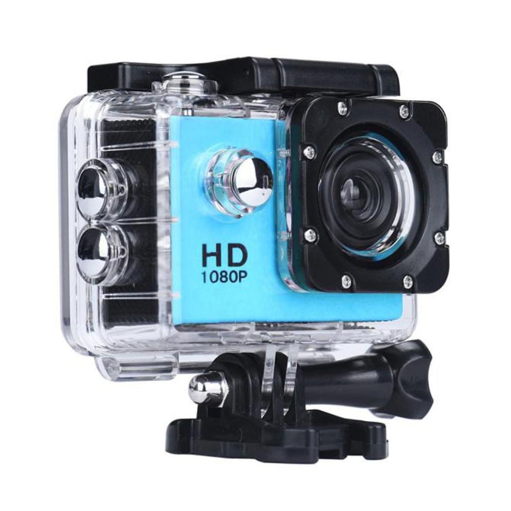Amazon.com: Creazy Mini Waterproof Sports Recorder Car DV Action Camera  Camcorder 1080P HD (Blue): Cell Phones & Accessories
