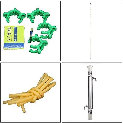 NSDFG La destilación de Vapor 12 Juegos de Equipo químico orgánico ...