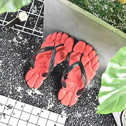 Zapatilla Verano De Deporte Juventud La LYZGF Hombres Los Sandalias Ocasionales Deporte De De Red De De Playa De De Zapatillas La wwafZXq