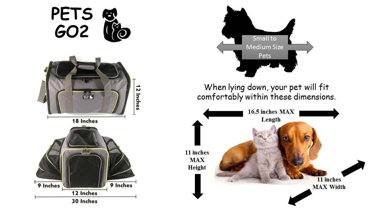 Pet Carrier For Dogs Cats Airline Approved Premium
